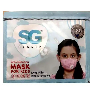 SG HEALTH N95 Pollution Kids Dust Mask with Activated Carbon