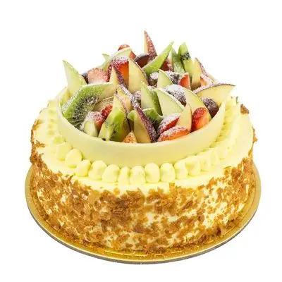Snow Fresh Fruit Cake