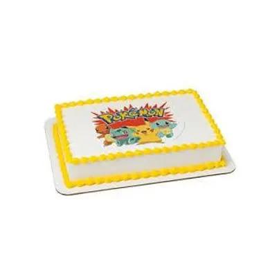 Butterscotch Pokemon Cake