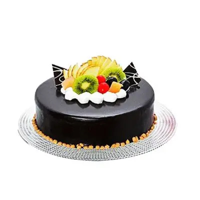 Delicious Chocolate Fruit Cake