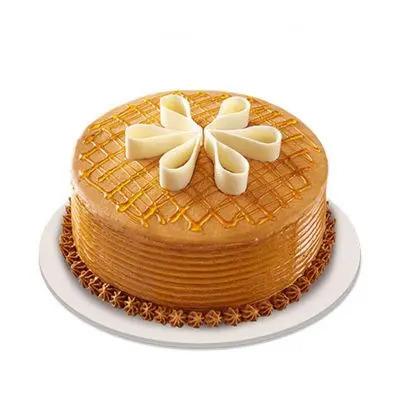Lush Caramel Cake