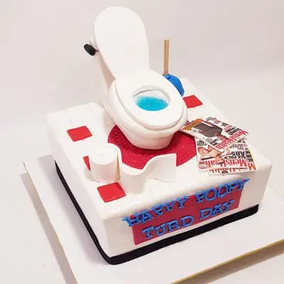 Toilet Break Cake