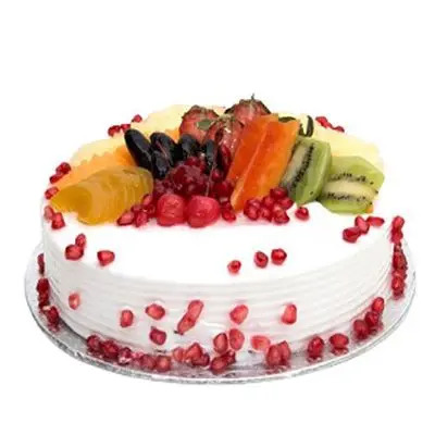 Tropical Fresh Fruit Cake