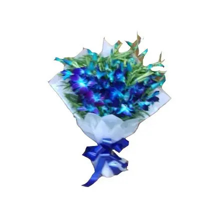 Lovely Blue Orchid Bouquet