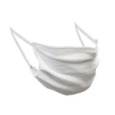 White Cotton Mask Set