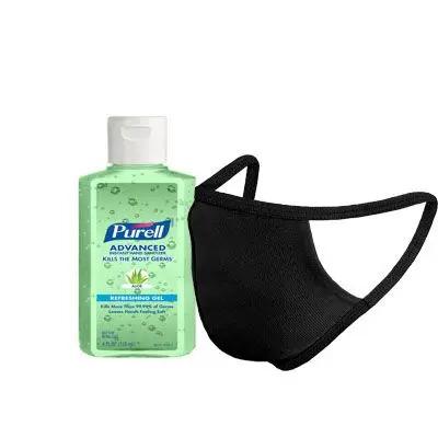 Sanitizer Bottle with Masks