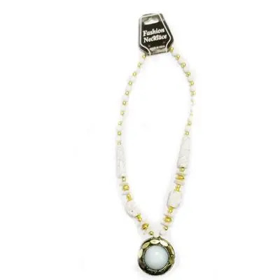 White Big Pearl Necklace