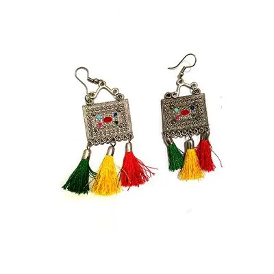 Multi Colored Earring