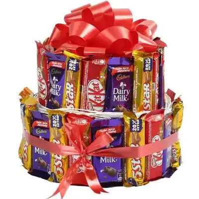 Mix Cadbury Kitkat Chocolate Bouquet