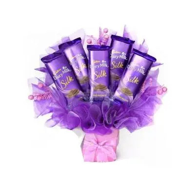 Beautiful Dairy Milk Silk Bouquet
