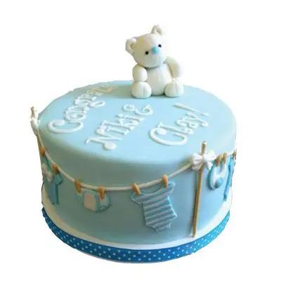 Baby Fondant Cake