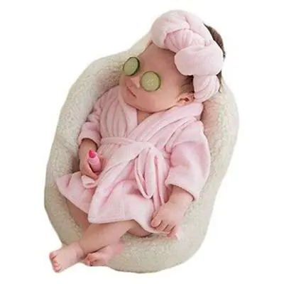 Babymoon New Born Costume Pink Set