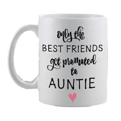Pregnancy Announcement Mug for Best Friends