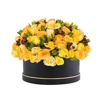 Yellow Roses Box