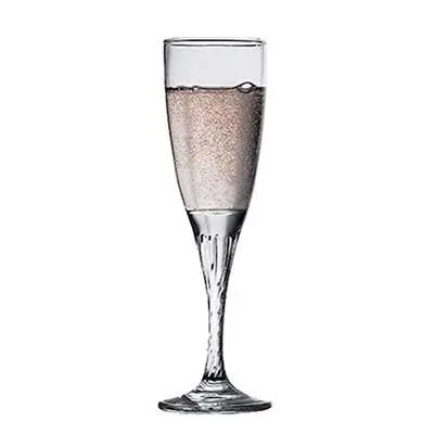 Pasabahce Twist Glass Champagne Flute