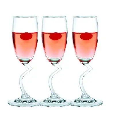 Ocean Salsa Champagne Flute Set