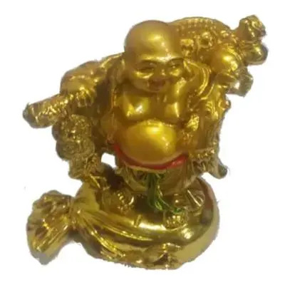 Feng Shui Laughing Buddha With Coin