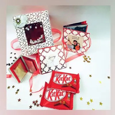 Rakhi Personalized Note Combo