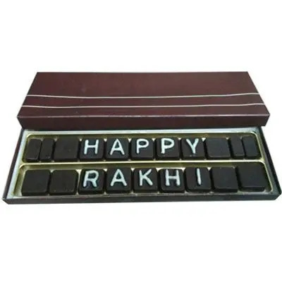 Happy Bhai Message Chocolates
