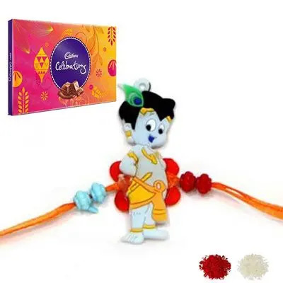 Krishna Rakhi with Celebration