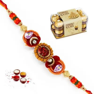 Mauli Rakhi with Ferrero