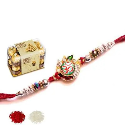 Om Rakhi with Ferrero
