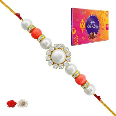 Pearl Rakhi with Celebration