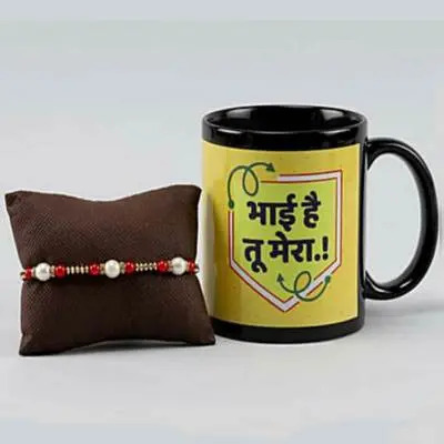 Rakhi with Personalized Mug Gift