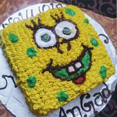 Eggless Cartoon Cake