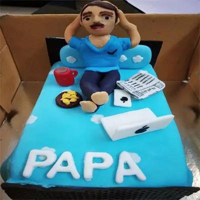 Truffle Papa Cake