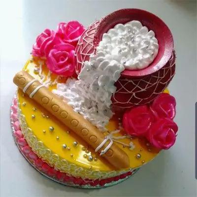 Janmashtami Krishna Cake