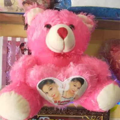 Personalized Pink Teddy Bear