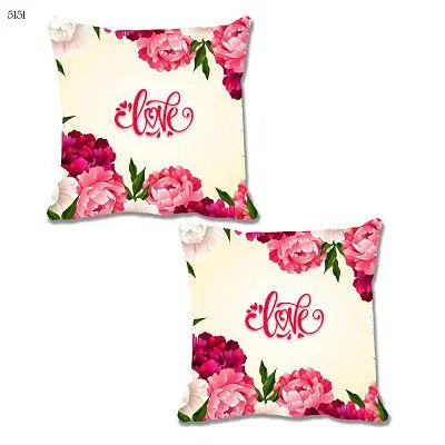 Love Theme Cushion Cover