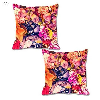 Kayra Printed Love Theme Cushion Cover