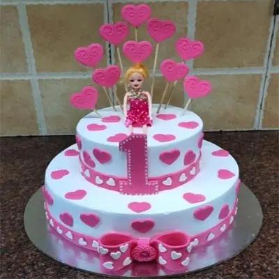 Number 1 Princess Cake