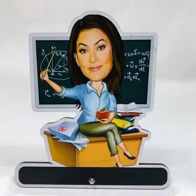 Teacher's Day Caricature