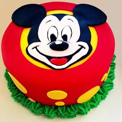 Delicious Mickey Mouse Chocolate Cake