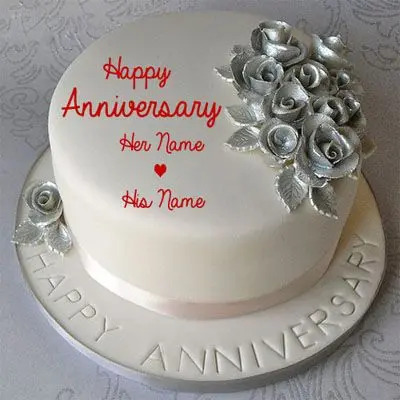 Delicious 25th Anniversary Pineapple Cake