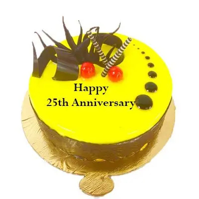 Delish 25h Anniversary Pineapple Cake