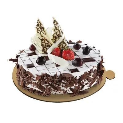 Silver Jubilee Designer Black Forest Cake
