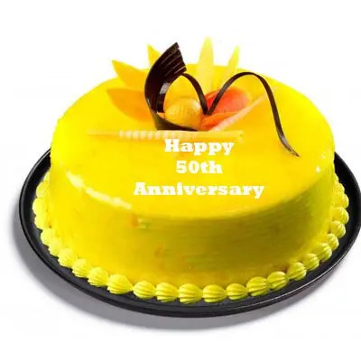 50th Anniversary Pineapple Cake