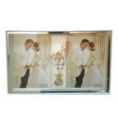 Classic 2 Picture Glass Photo Frame