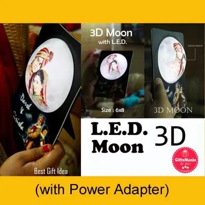 3D LED Moon