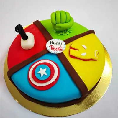 Fondant Themed Cake