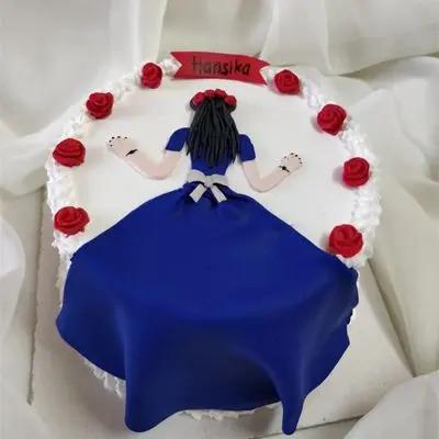 Barbie Back Designer Cake
