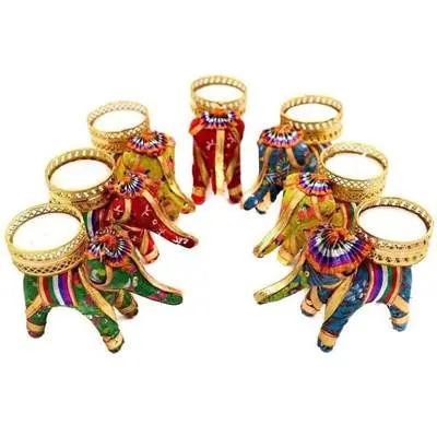 Elephant Diwali Diya