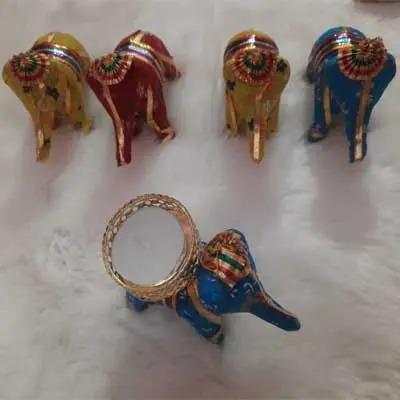 Creative Elephant Diya