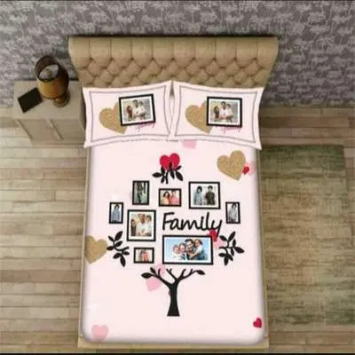 Personalized Bed Sheet E2007