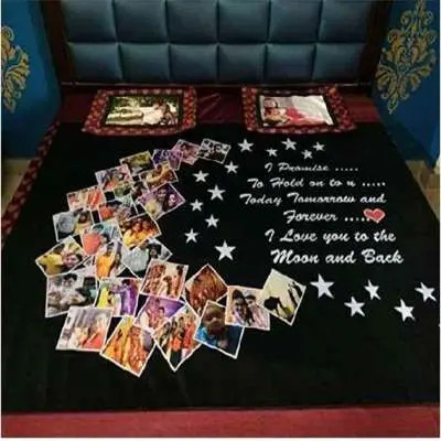 Personalized Bed Sheet E2010