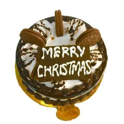 Christmas Choco Oreo Cake
